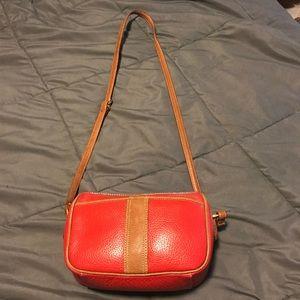 Handbags - Red leather bag